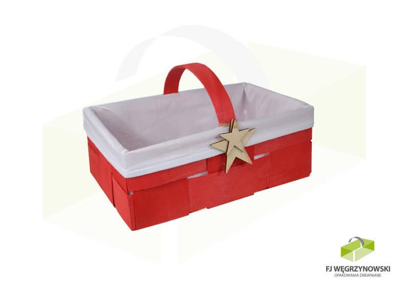 Geschenkverpackung 27 x 17 x 10 cm, colour 4, Material 2, Stern