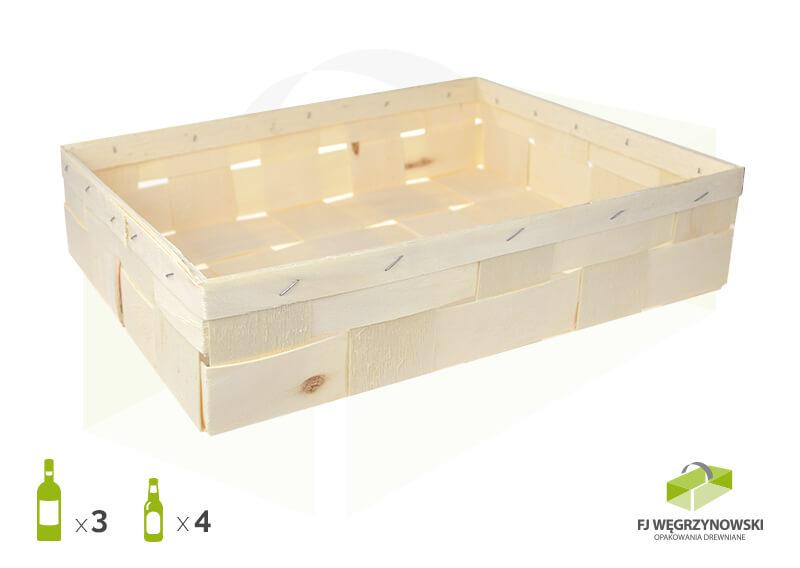 Weinverpackung 35 x 28 x 8 cm