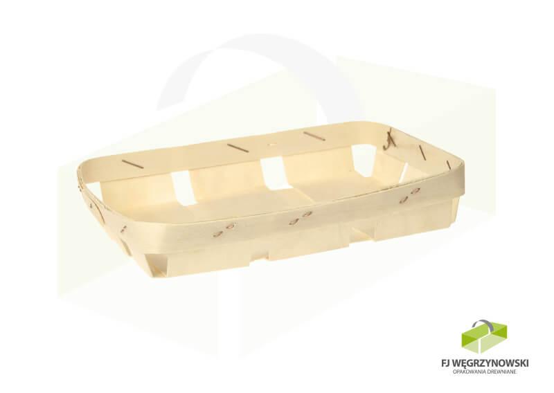 Holzschale 18 x 13,5 x 3 cm